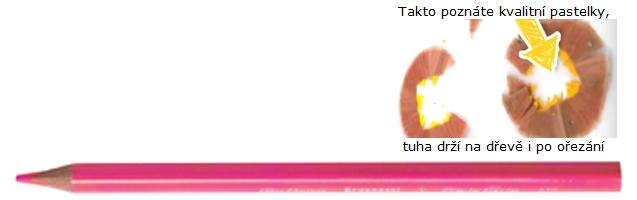 bruynzeel-sakura 3305/71 Trojhranné pastelky jednotlivě, růžová