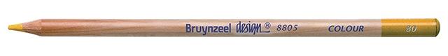 bruynzeel-sakura 8805/80 Umělecké pastelky bruynzeel Design Colour jednotlivě - Zlatá