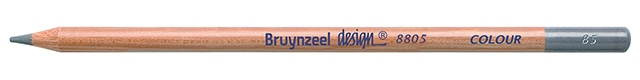bruynzeel-sakura 8805/85 Umělecké pastelky bruynzeel Design Colour jednotlivě - Stříbrná