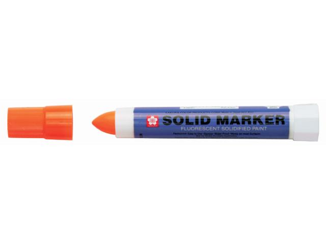 bruynzeel-sakura XSC.305 Permanentní popisovač Pevná Barva pro náročné úkoly Solid Marker stopa 4-10 mm - fluo oranžová