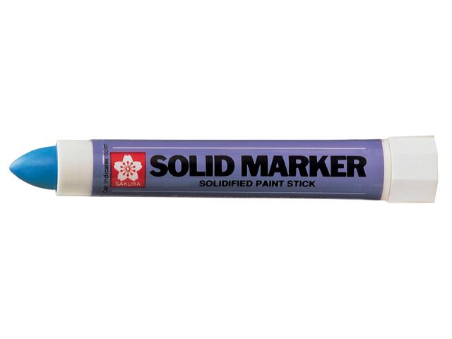bruynzeel-sakura XSC.36 Permanentní popisovač Pevná Barva pro náročné úkoly Solid Marker stopa 4-10 mm - modrá