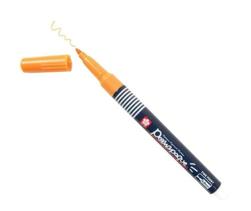 bruynzeel-sakura XZPK-S5 Permanentní popisovač na vodní bázi Permapaque 1 mm - oranžová