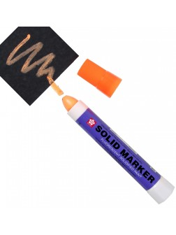Solid® marker - fluo oranžová