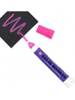 Solid® marker - fluo růžová