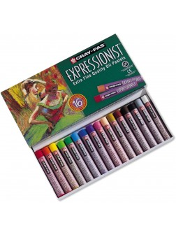 Olejové pastely Expressionist™ 16 barev