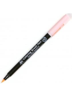 Akvarelové štětcové pero Koi® - světlá oranžová