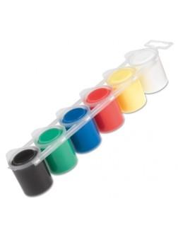 Prstové barvy 6 x 25 ml