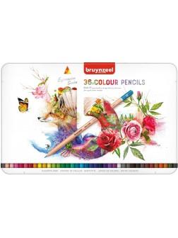bruynzeel® Pastelky Expression - sada 36 ks.