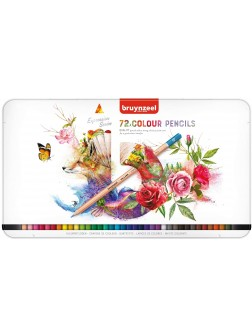 bruynzeel® Pastelky Expression - sada 72 ks.