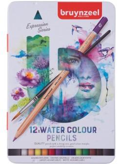 bruynzeel® Akvarel Expression - sada 12 ks.