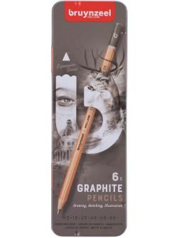 bruynzeel® Grafit Expression - sada 12 ks