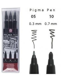 Pigma Micron® - Pigma pen 3 ks.
