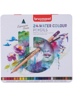 bruynzeel® Akvarel Expression - sada 24 ks.