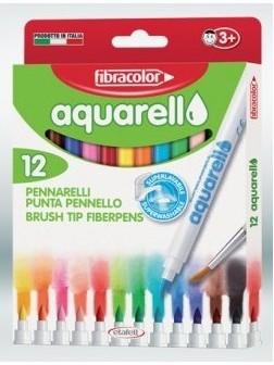 Akvarelové Fixy 12 barev